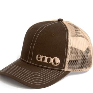 ENO Richardson Trucker Baseball Hat Brown & Khaki